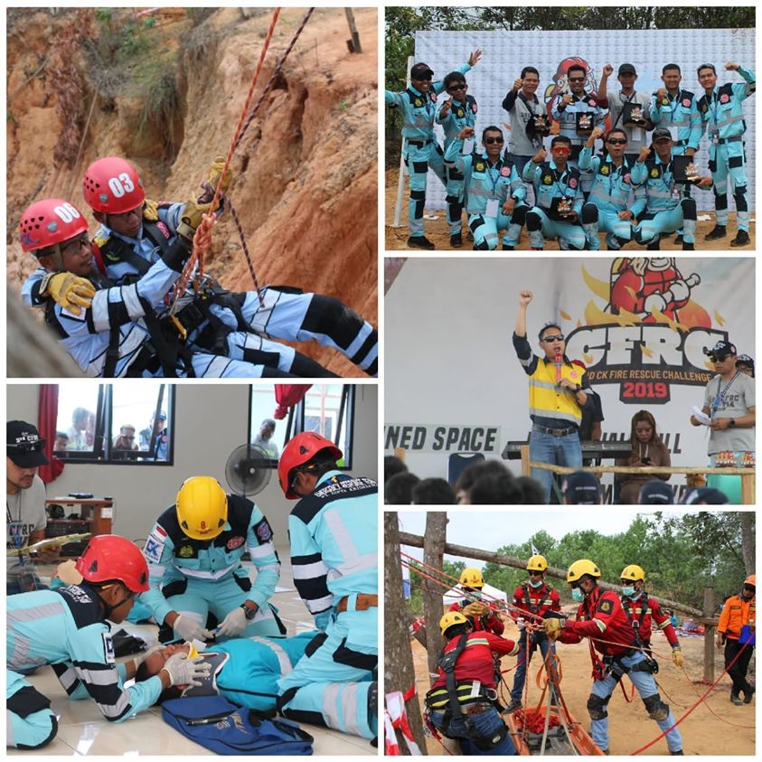Congratulations to the CK OSHE Team for successfully developing K3L culture through the 2019 Cipta Kridatama Fire Rescue Challenge (CFRC)