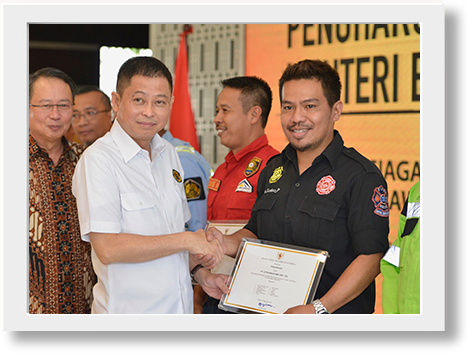 Appreciation from Ministry for Palu Disaster Rescue
