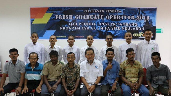 Mifa-CK Holds a Fresh Graduate Operator Program for Youth in West Aceh